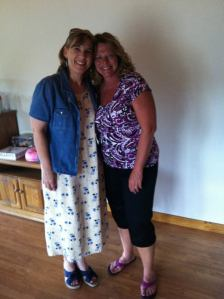 Aunt Debbie and Aunt Cathy